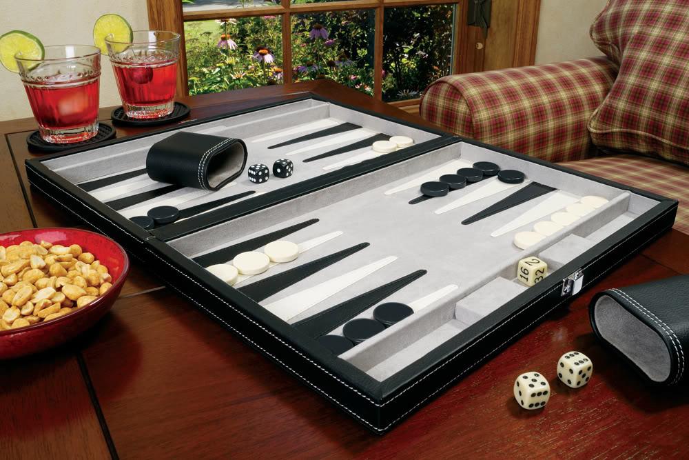 "Classic 15"" Backgammon Set"