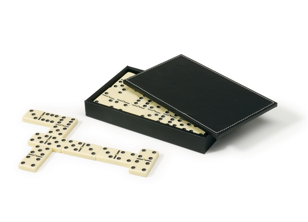 28 Domino Tiles with Spinners