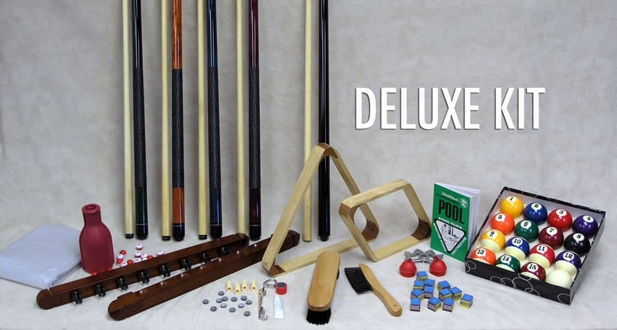 Deluxe Billiard Accessory Kit
