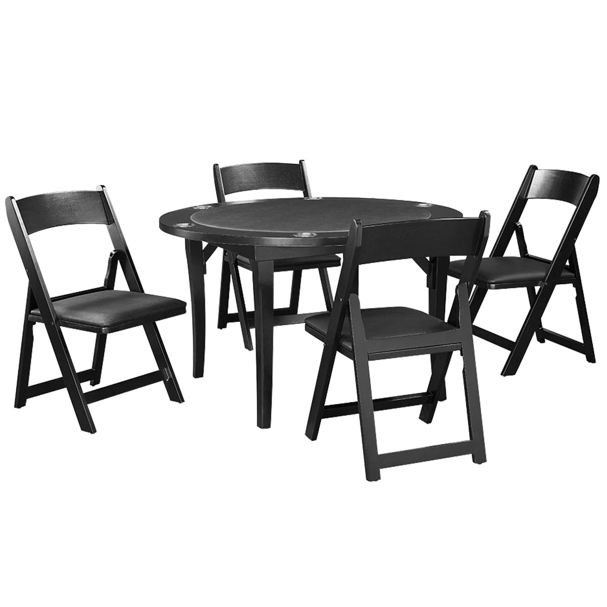 Black Finish with Optional Chairs