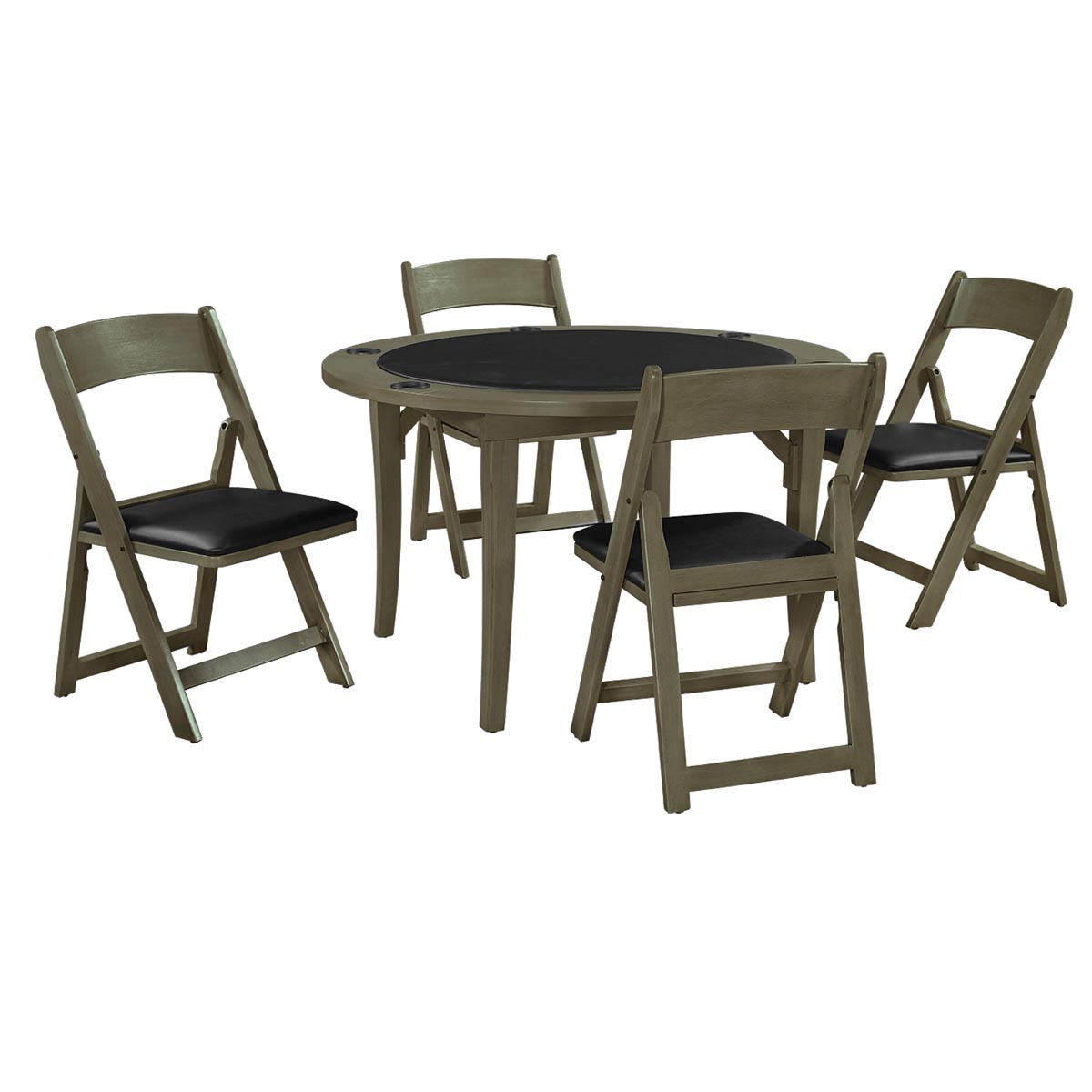 Slate Finish with Optional Chairs