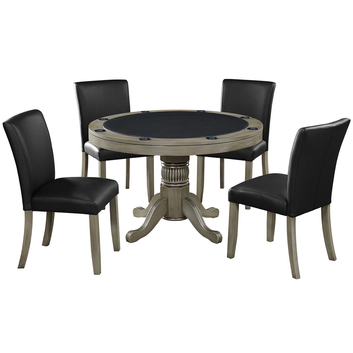 Slate Finish with Optional Dining Chairs