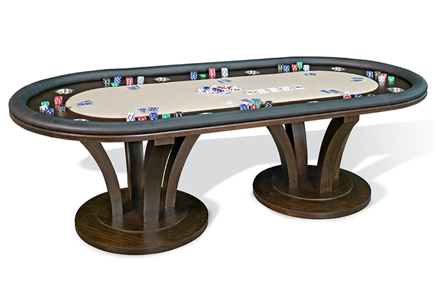 Venice Oval, Texas Hold'em Table