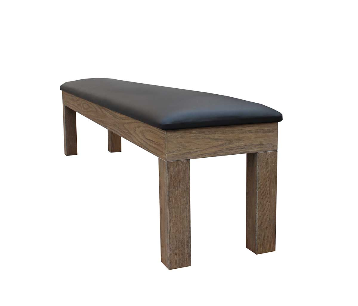 Optional Storage Bench - Silvered Oak Finish