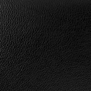 Black Leatherette Cushion Covering