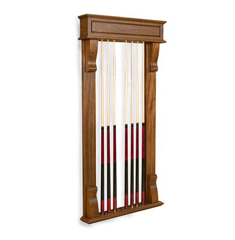 Optional California House Wall Cue Rack 1
